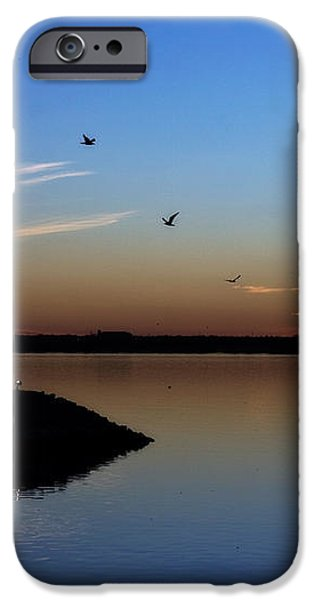 East Warf Sunset iPhone Case by Lana Trussell