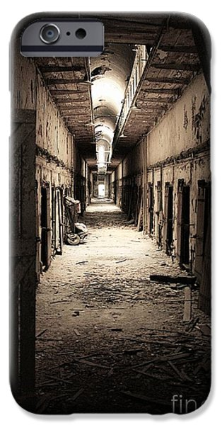 Weapon iPhone Cases - Eastern Penitentiary #2 iPhone Case by Marcia Lee Jones