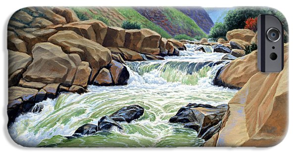 Sierras iPhone Cases - Eastern Sierra Stream iPhone Case by Paul Krapf