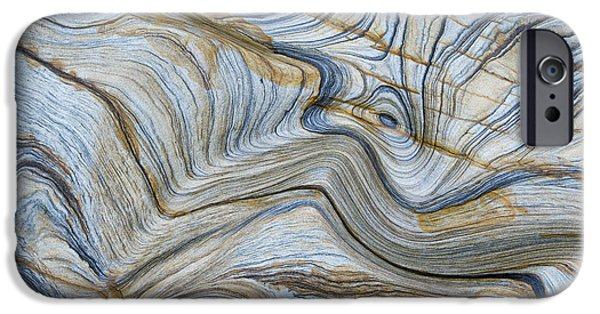 Stratum iPhone Cases - Ebb n Flow iPhone Case by Tim Gainey