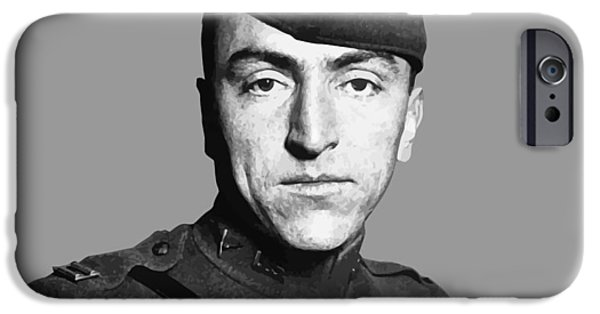 World War One iPhone Cases - Eddie Rickenbacker iPhone Case by War Is Hell Store