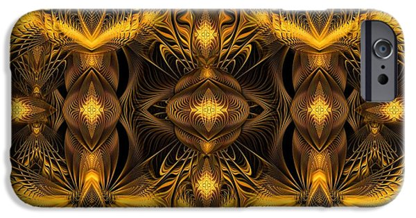 Apophysis Pastels iPhone Cases - Eden iPhone Case by Gayle Odsather