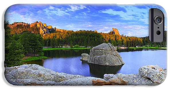 Cathedral Rock iPhone Cases - Edge Beauty iPhone Case by Kadek Susanto