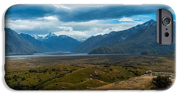 The Horse iPhone Cases - Edoras iPhone Case by Andre Distel