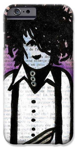 Edward iPhone Case by Jera Sky