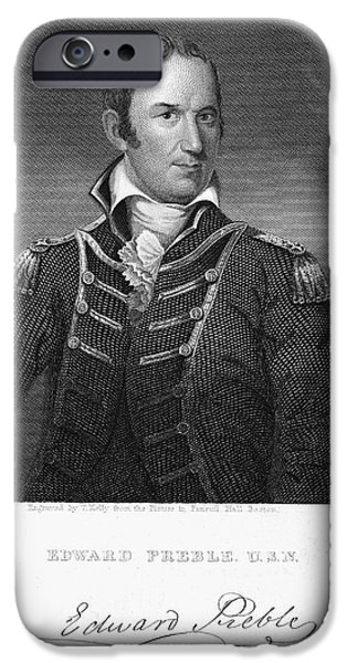 Recently Sold -  - Autographed iPhone Cases - Edward Preble (1761-1807) iPhone Case by Granger