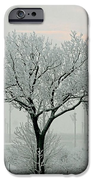 Eerie Days iPhone Case by Christine Till