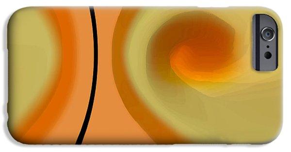 Ben Gertsberg Digital Art iPhone Cases - Egg On Broken Plate iPhone Case by Ben and Raisa Gertsberg