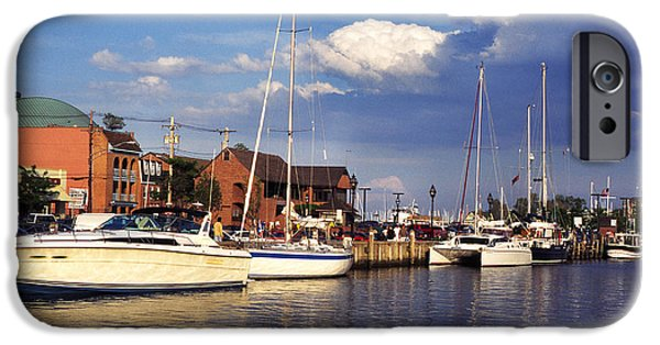 Ego iPhone Cases - Ego Alley Annapolis iPhone Case by Thomas R Fletcher
