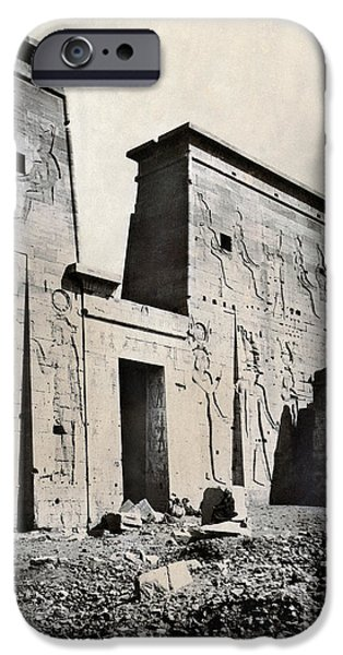 EGYPT: TEMPLE OF ISIS iPhone Case by Granger