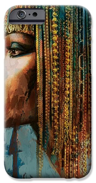 Egypt iPhone Cases - Egyptian Culture 1 iPhone Case by Mahnoor Shah