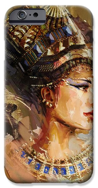 Egypt iPhone Cases - Egyptian Culture 11 iPhone Case by Maryam Mughal