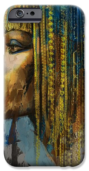 Egypt iPhone Cases - Egyptian Culture 1b iPhone Case by Mahnoor Shah