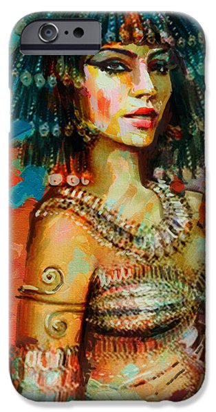 Egypt iPhone Cases - Egyptian Culture 2 iPhone Case by Maryam Mughal