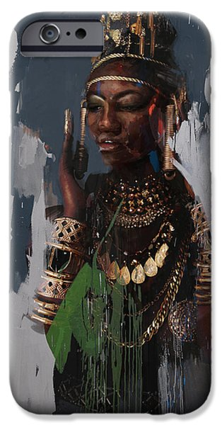 Cleopatra iPhone Cases - Egyptian Culture 31 iPhone Case by Maryam Mughal