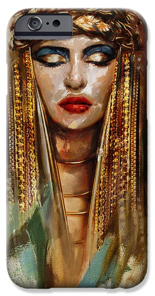 Egypt iPhone Cases - Egyptian Culture 4 iPhone Case by Mahnoor Shah