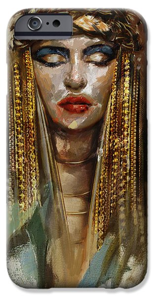 Egypt iPhone Cases - Egyptian Culture 4b iPhone Case by Mahnoor Shah