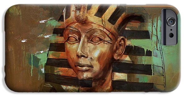 Corporate Art iPhone Cases - Egyptian Culture 52 iPhone Case by Corporate Art Task Force