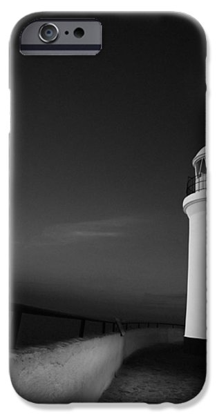 Facade iPhone Cases - El Faro de l Albir iPhone Case by Erik Brede