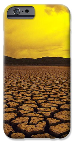 El Mirage Desert iPhone Case by Larry Dale Gordon - Printscapes