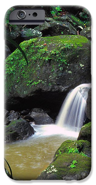 El Yunque National Forest Waterfall iPhone Case by Thomas R Fletcher
