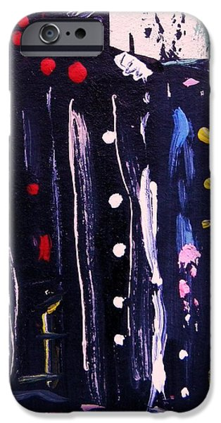 Electric Company iPhone Case by Mary Carol Williams