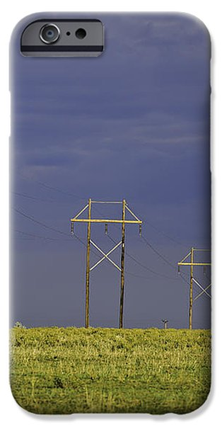 Electric Pasture iPhone Case by Melany Sarafis