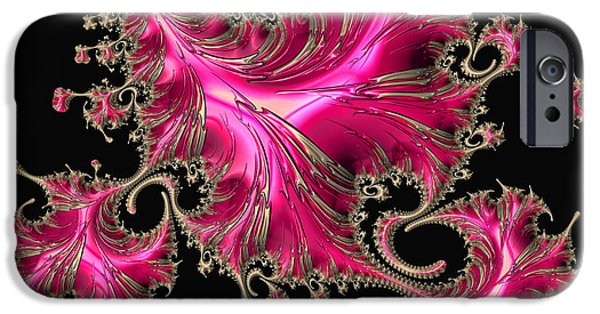 Technology iPhone Cases - Electric Pink iPhone Case by HH Photography