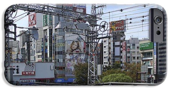 Kobe Photographs iPhone Cases - Electric Train Society -- Kansai Region Japan iPhone Case by Daniel Hagerman