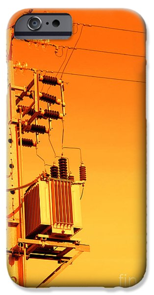 Electrical Equipment iPhone Cases - Electricity iPhone Case by Gaspar Avila