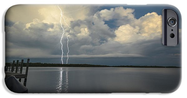 Drama iPhone Cases - Electrifying View iPhone Case by Dennis Gingerich