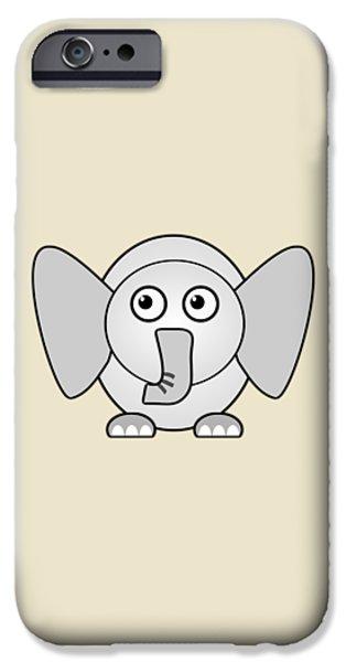 Friend iPhone Cases - Elephant - Animals - Art for Kids iPhone Case by Anastasiya Malakhova