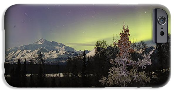 Winter Scene iPhone Cases - Elevate iPhone Case by Ed Boudreau