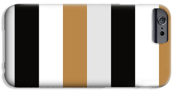 Stripes iPhone Cases - Elite Stripes iPhone Case by Patti Britton