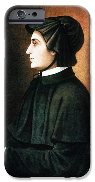 ELIZABETH ANN SETON iPhone Case by Granger