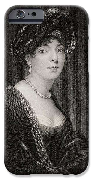 Baroness iPhone Cases - Elizabeth Sutherland-gower. Marchioness iPhone Case by Ken Welsh