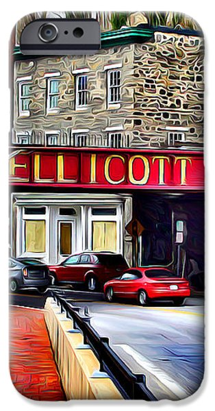 Ellicott City iPhone Case by Stephen Younts