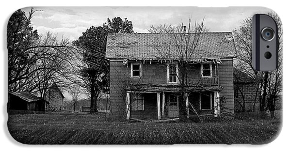 Old Barns iPhone Cases - Elsewhere iPhone Case by Audie Case