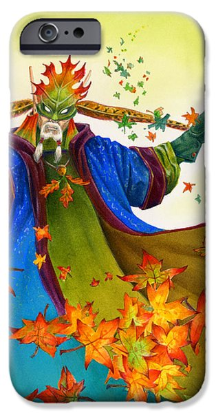Fantasy Mixed Media iPhone Cases - Elven Mage iPhone Case by Melissa A Benson