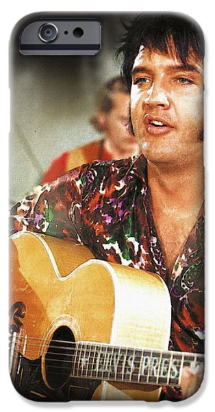 Michael iPhone Cases - Elvis Country is a return to roots. iPhone Case by Don Kuing