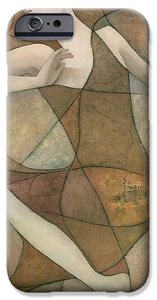 Original Mixed Media iPhone Cases - Elysium iPhone Case by Steve Mitchell