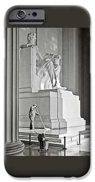 Lincoln iPhone Cases - Emancipation Proclamation iPhone Case by Charles Cecil