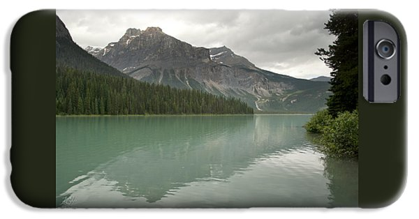 President iPhone Cases - Emerald Lake iPhone Case by Kenneth Hadlock