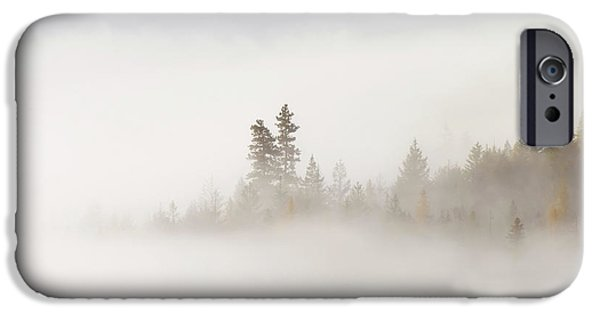 Fog Mist Photographs iPhone Cases - Emergence iPhone Case by Mike  Dawson