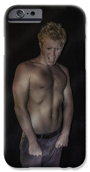 Drama iPhone Cases - Emotion iPhone Case by Mary Michelle Scott