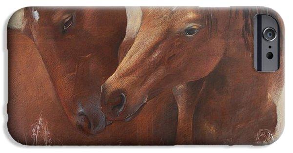 The Horse iPhone Cases - Emotions iPhone Case by Vali Irina Ciobanu