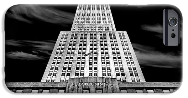 Empire State iPhone Cases - Empire State   iPhone Case by Az Jackson