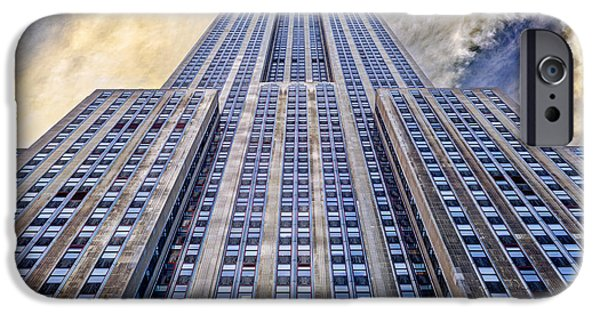 New York City iPhone Cases - Empire State Building  iPhone Case by John Farnan
