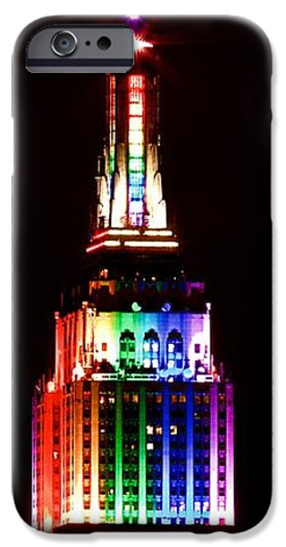 Empire State iPhone Cases - Empire State Building NYC iPhone Case by Mingtaphotography