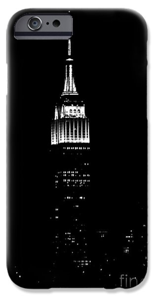 Empire State iPhone Cases - Empire State iPhone Case by Lilliana Mendez